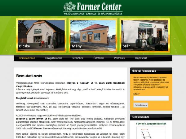 Farmer Center - Bicske